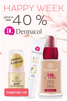 Happy week Dermacol până la 40%