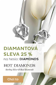 Hot Diamonds se slevou 25 %