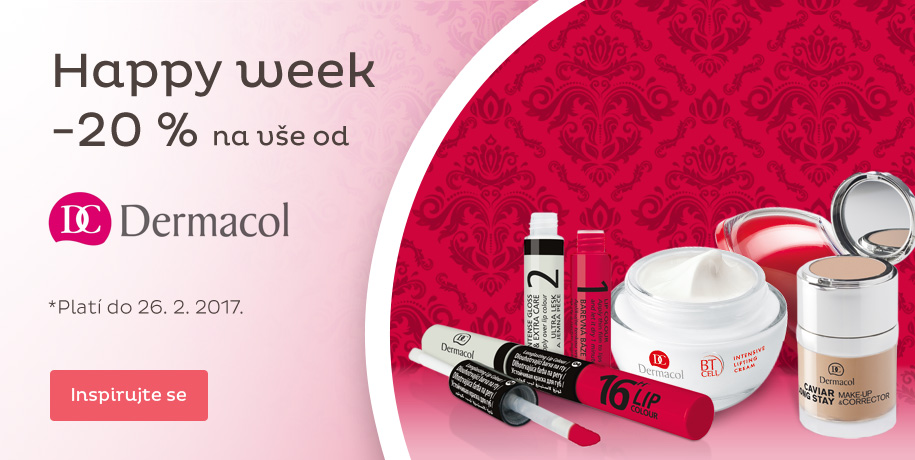 Happy week - 20 % na kosmetiku Dermacol