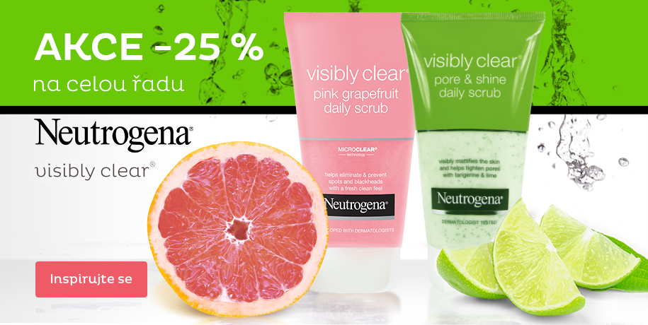 - 25 % Neutrogena Visibly Clear