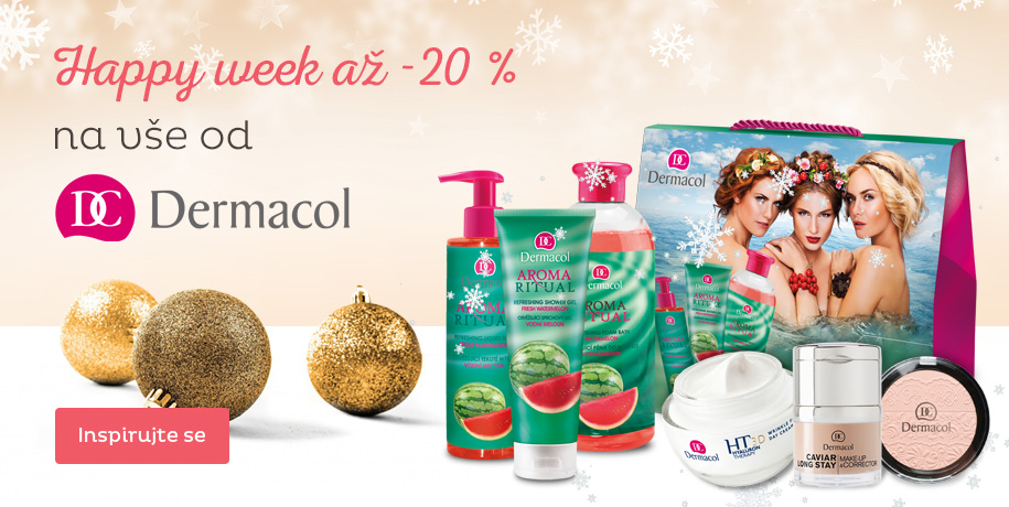 Dermacol Happy Week až -20 %