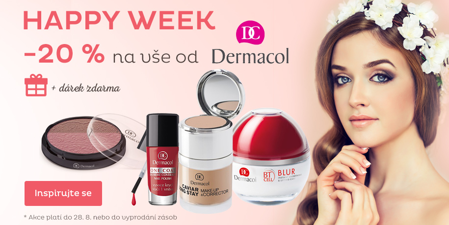 Happy week - 20 % Dermacol