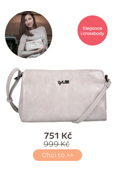Kabelka Lylee Abbie Crossover Bag Cream