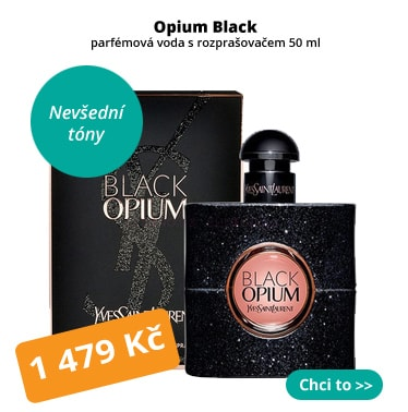 Yves Saint Laurent Opium Black parfém