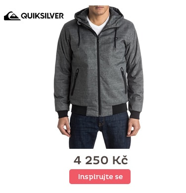 Quiksilver bunda Brooks5k