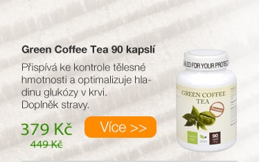 Green Coffee Tea kapsle