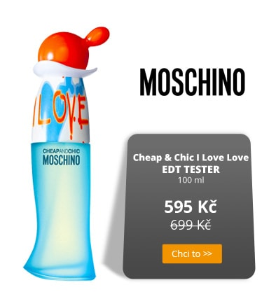 MOschino Cheap & Chic I Love Love parfém