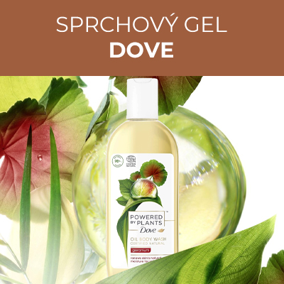 Sprchový gel Pelargonie Powered by Plants Geranium (Oil Body Wash) 250 ml